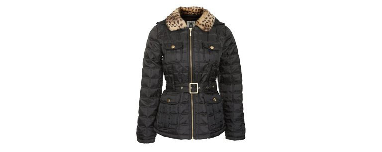 black-quilted-faux-fur-collar new look 39.99