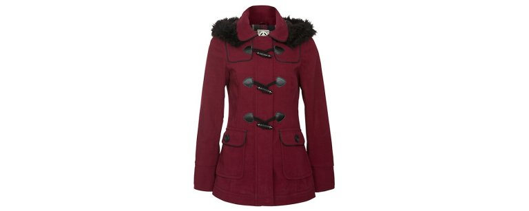 red-faux-fur-hooded-duffle-coat 44.99 new look
