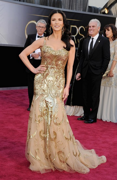 catherine zeta jones zuhair murad gown