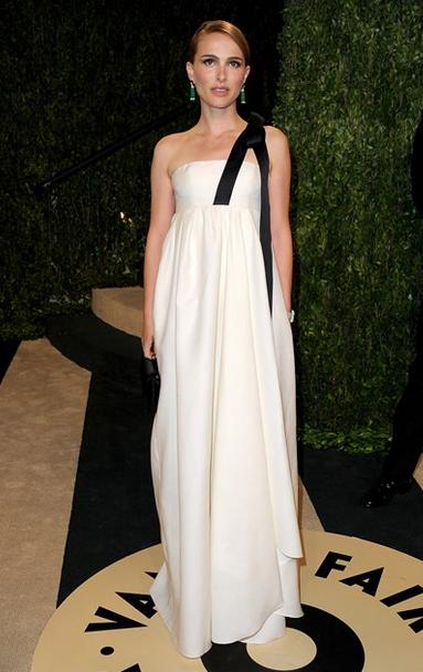 natalie portman dior white dress