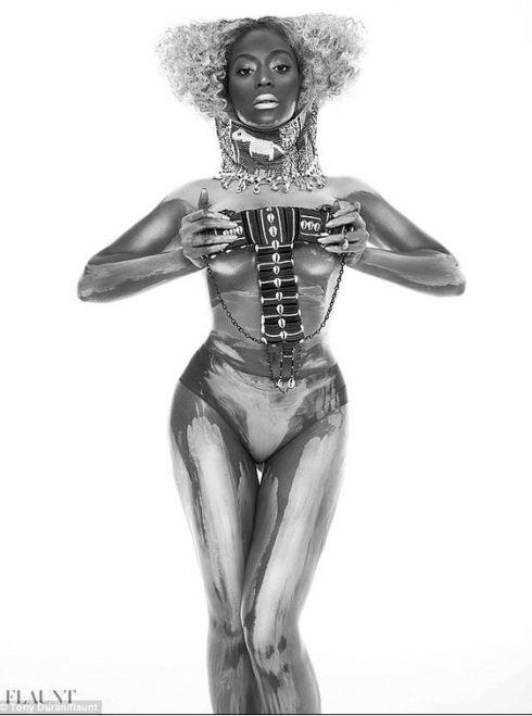 Beyonce tribal