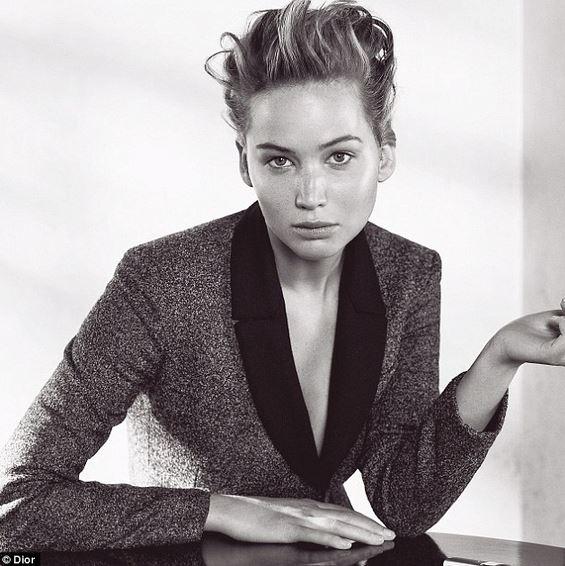 dior a/w Jennifer Lawrence
