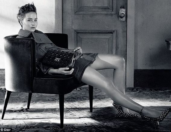 Jennifer Lawrence A/w dior