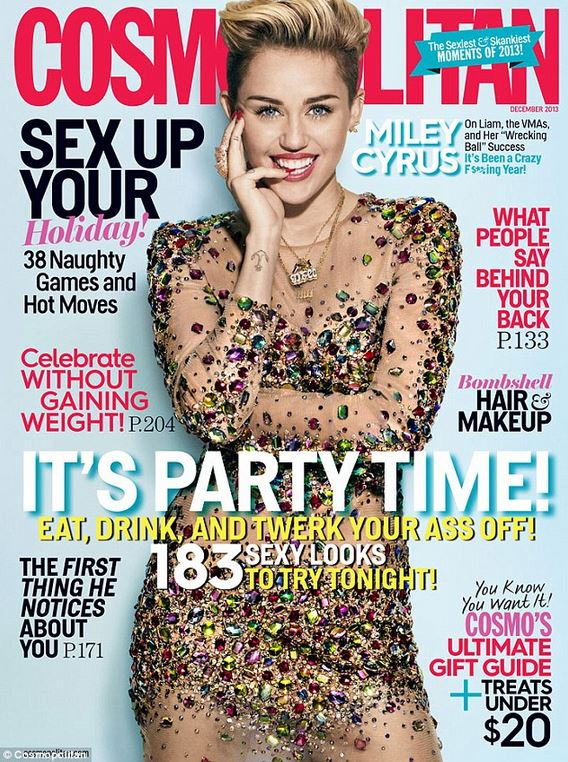 miley cosmo cover