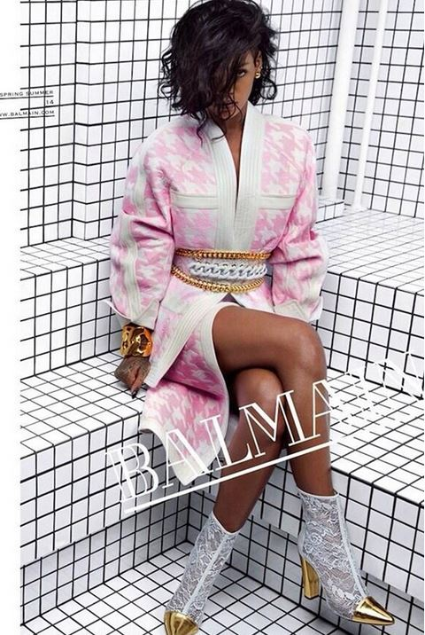 Rihanna Balmain