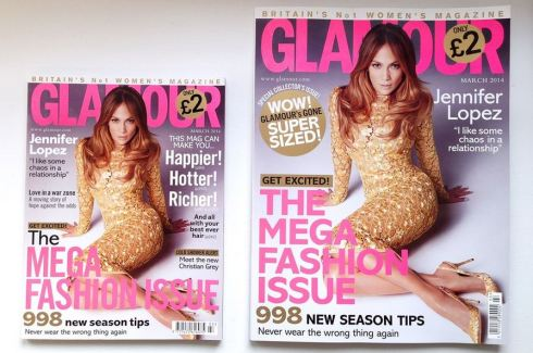 jlo covers glamour