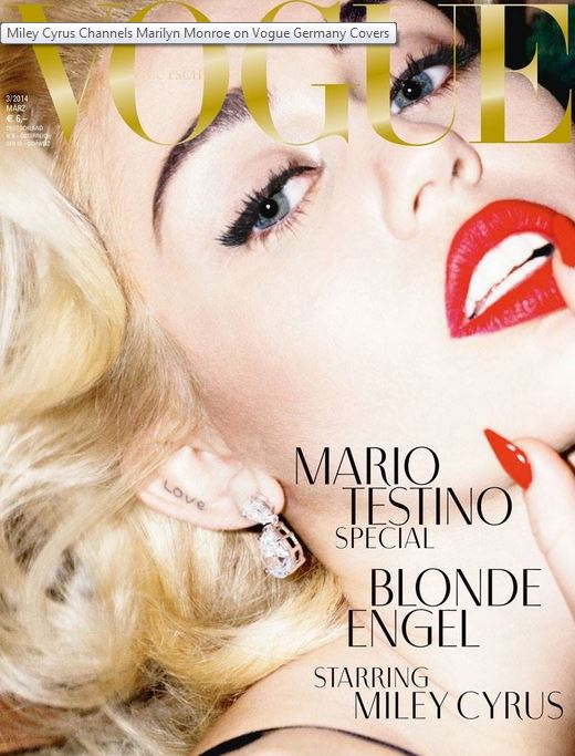 Miley Vogue