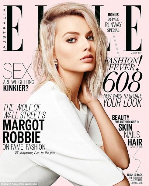 Margot Robbie Covers Elle