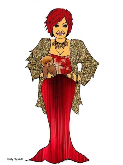 Sharon Osbourne by Holly Shortall