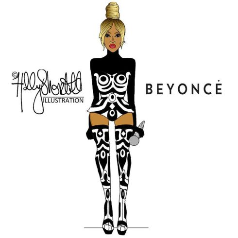 Beyonce by Holly Shortall