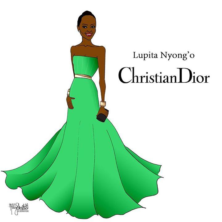 Lupita Nyong'o by Holly Shortall