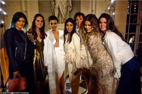 kardashians and lana del rey