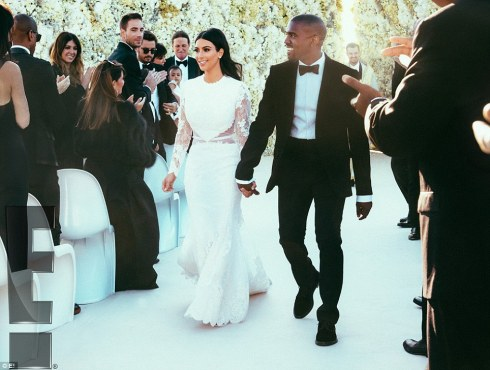 Aisle Kim and Kanye West