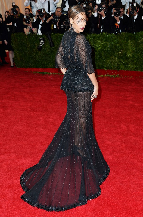 Givenchy Haute Couture by Ricardo Tisci dress with Lorraine Schwartz jewels