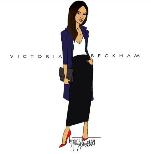 Victoria Beckham by Holly Shortall