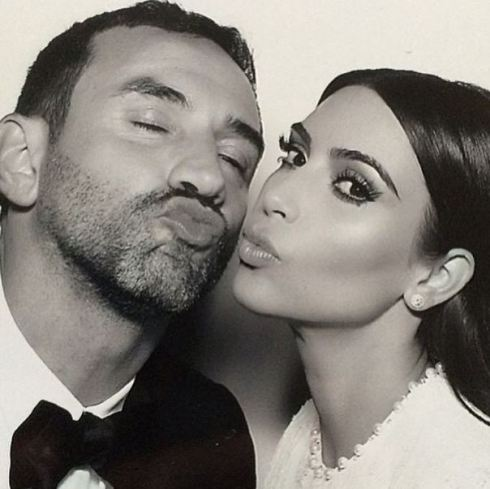 ricardotisci and kim - via krisjenner