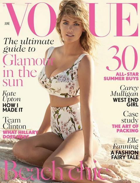 Kate Upton Vogue June
