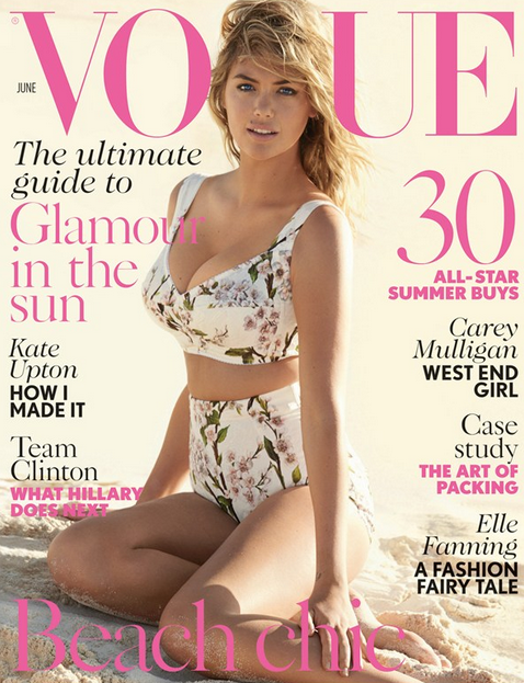 Kate Upton Vogue June